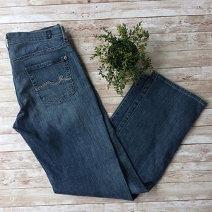 7 For All Mankind Jeans Size 30 Button Fly